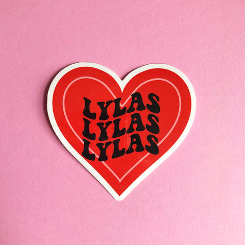 LYLAS sticker