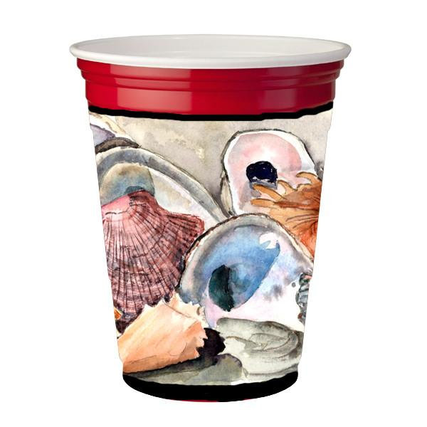 Buy this Sea Shells  Red Solo Cup Beverage Insulator Hugger