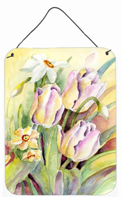 Buy this Tulips and Narcisuss Wall or Door Hanging Prints BMBO0425DS1216