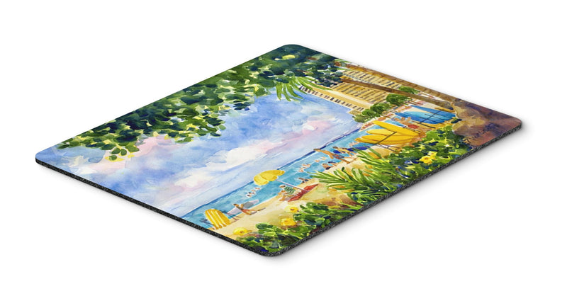 Buy this Beach Resort view from the condo  Mouse pad, hot pad, or trivet