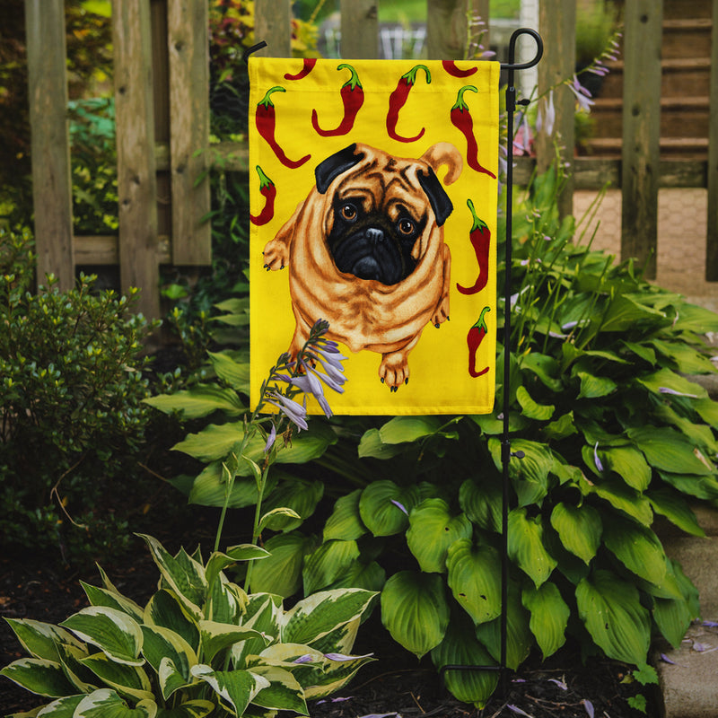 Buy this Pick a Pepper Pug Flag Garden Size AMB1412GF