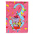 Buy this Happy 3rd Birthday Age 3  Flag Canvas House Size APH2160CHF