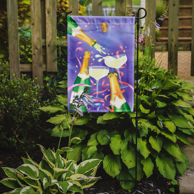 Buy this Celebrate New Years Toast Flag Garden Size