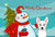 Buy this Snowman with Westie Fabric Placemat BB1846PLMT