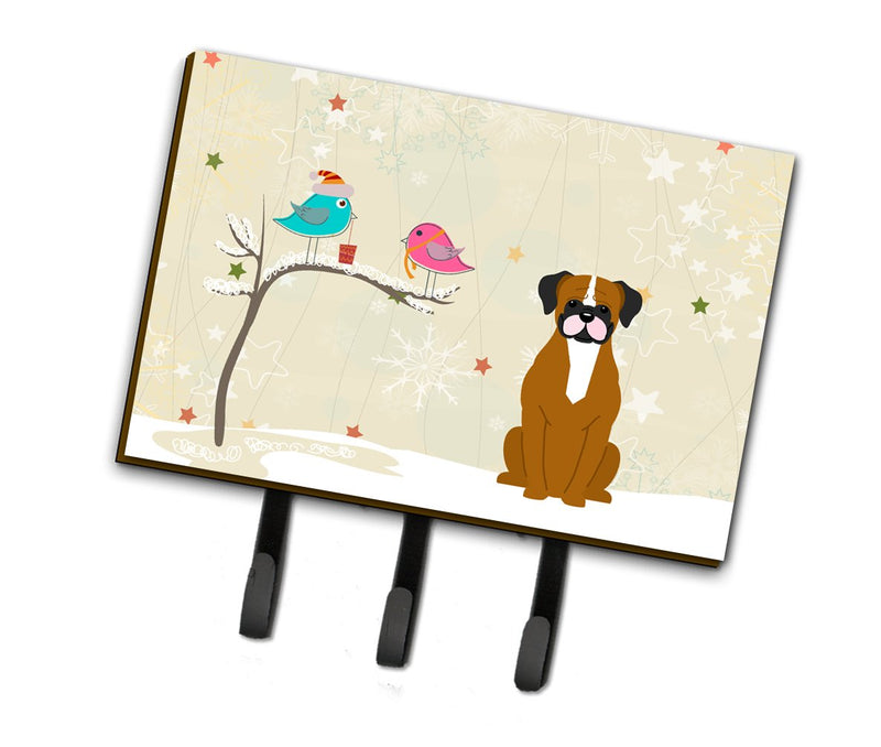 Buy this Christmas Presents between Friends Flashy Fawn Boxer Leash or Key Holder BB2588TH68