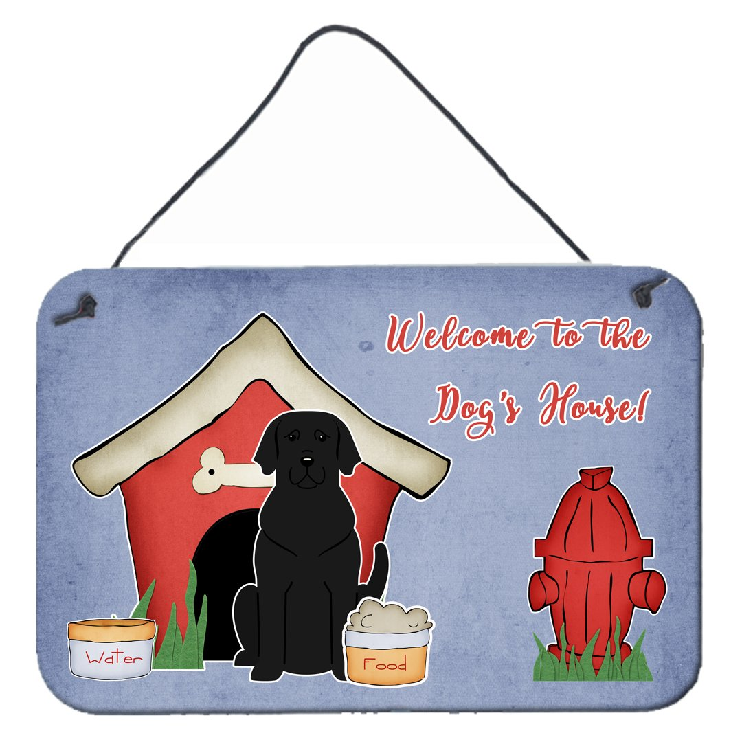 Buy this Dog House Collection Black Labrador Wall or Door Hanging Prints