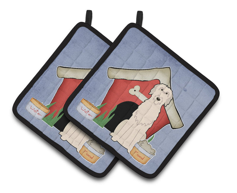 Buy this Dog House Collection Irish Wolfhound Pair of Pot Holders