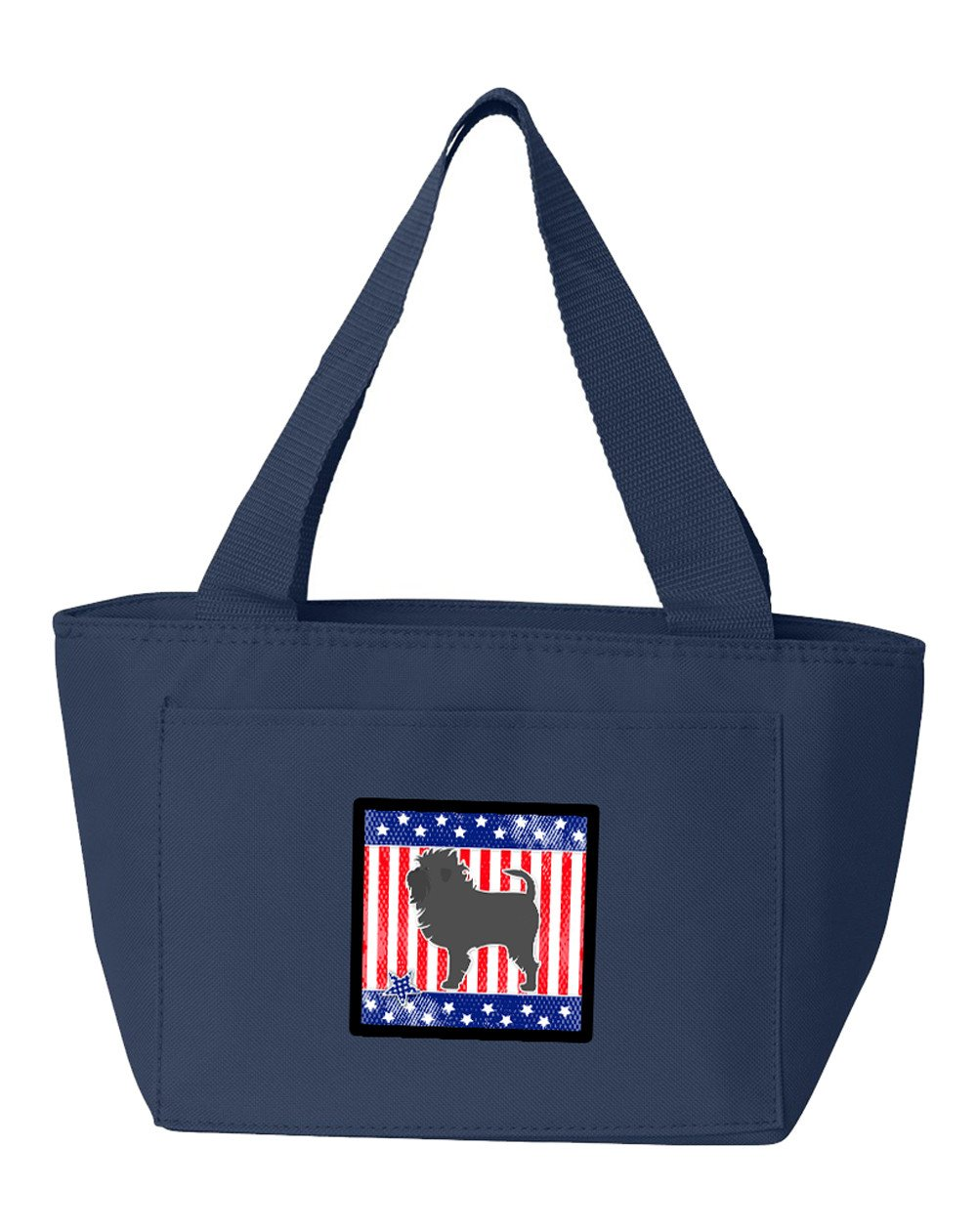 Buy this USA Patriotic Affenpinscher Lunch Bag BB3348NA-8808