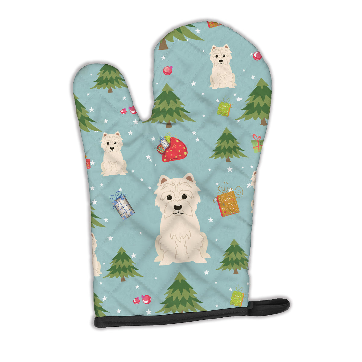 Buy this Christmas Westie Oven Mitt BB4702OVMT