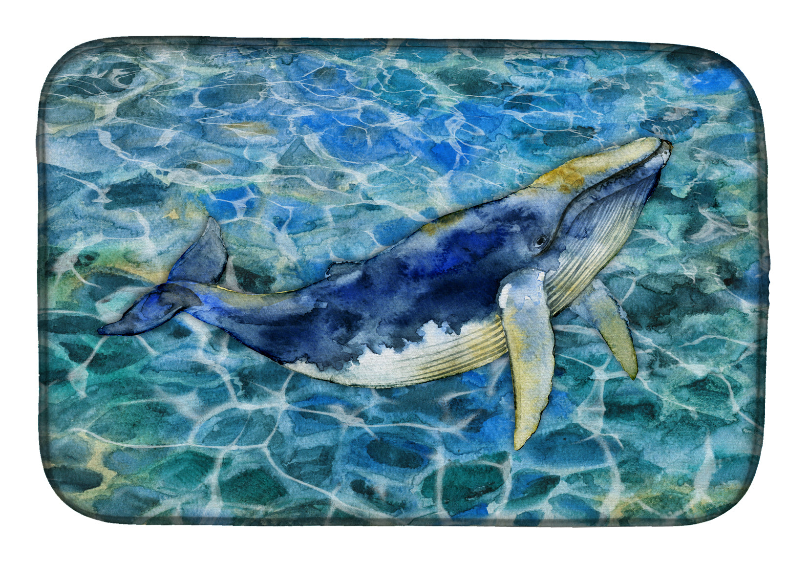 Buy this Humpback Whale Dish Drying Mat BB5336DDM