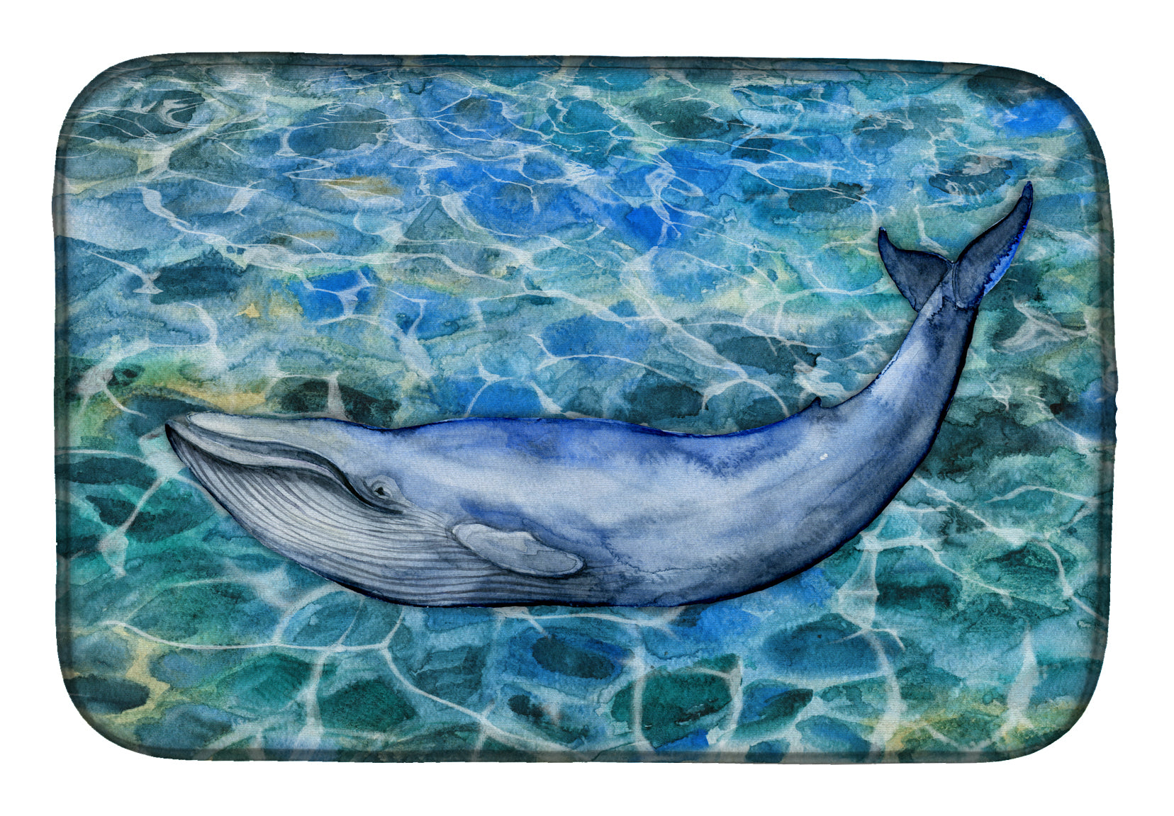 Buy this Humpback Whale Dish Drying Mat BB5340DDM