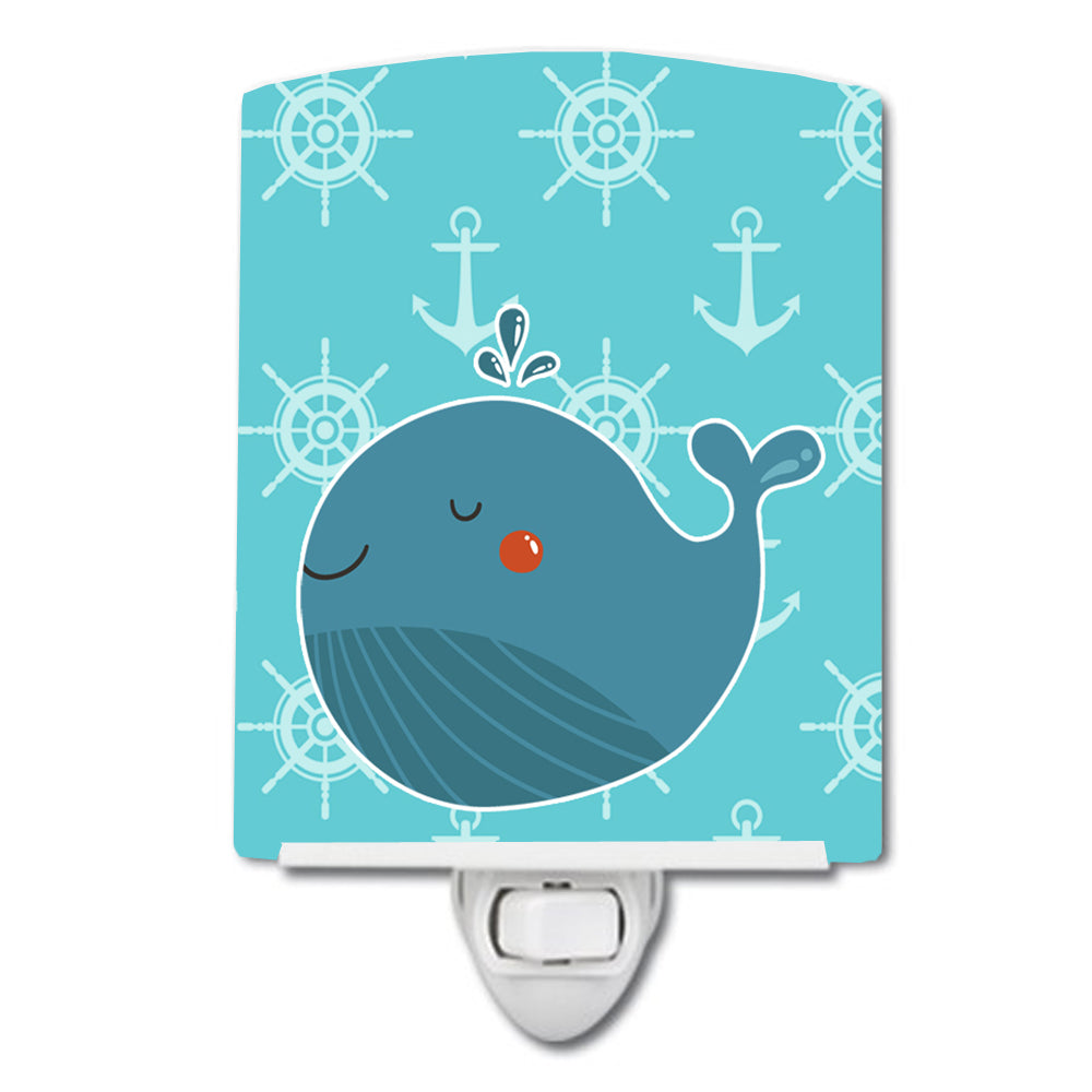 Buy this Blue Whale Ceramic Night Light BB6734CNL