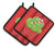 Buy this Christmas Cupcake Pair of Pot Holders BB6814PTHD
