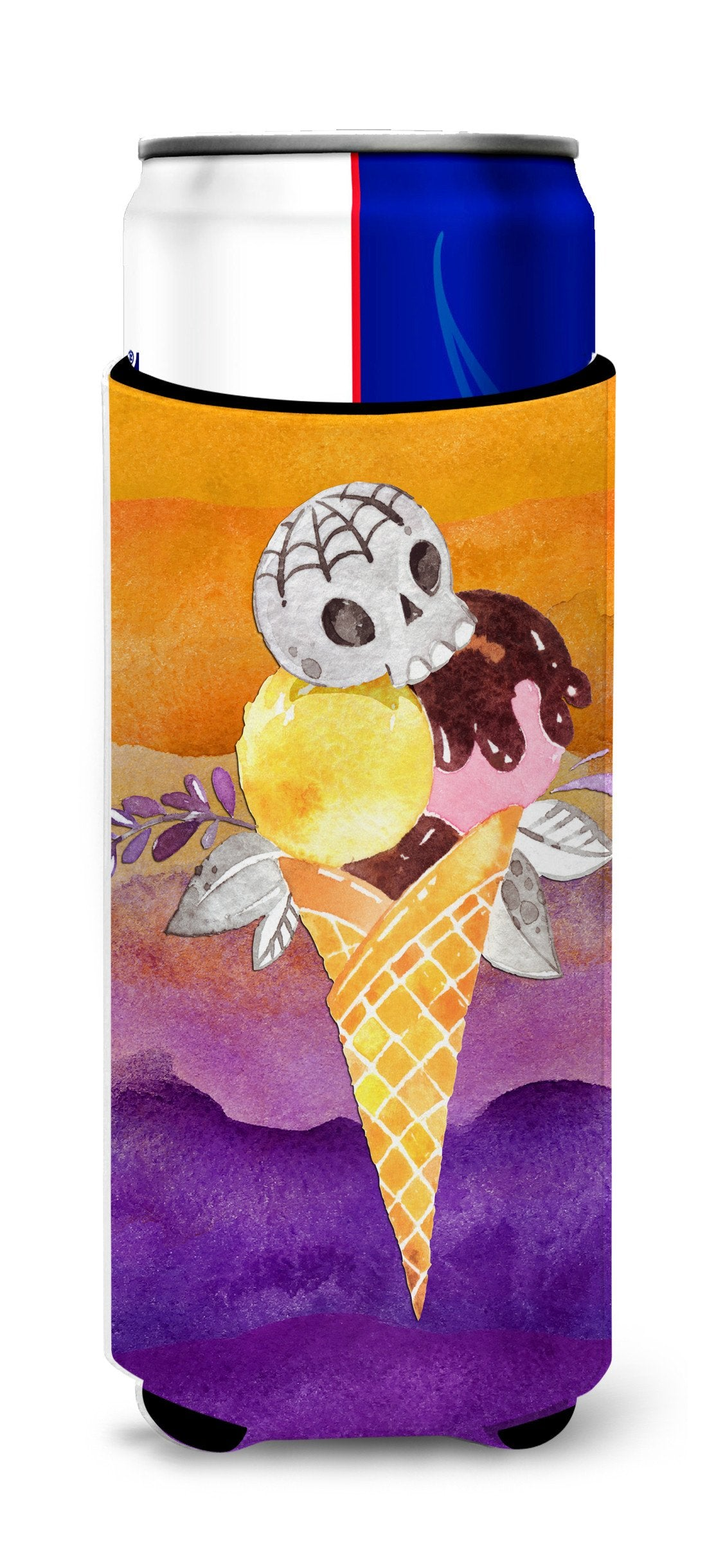 Buy this Halloween Sweets Ice Cream Skull Michelob Ultra Hugger for slim cans BB7464MUK