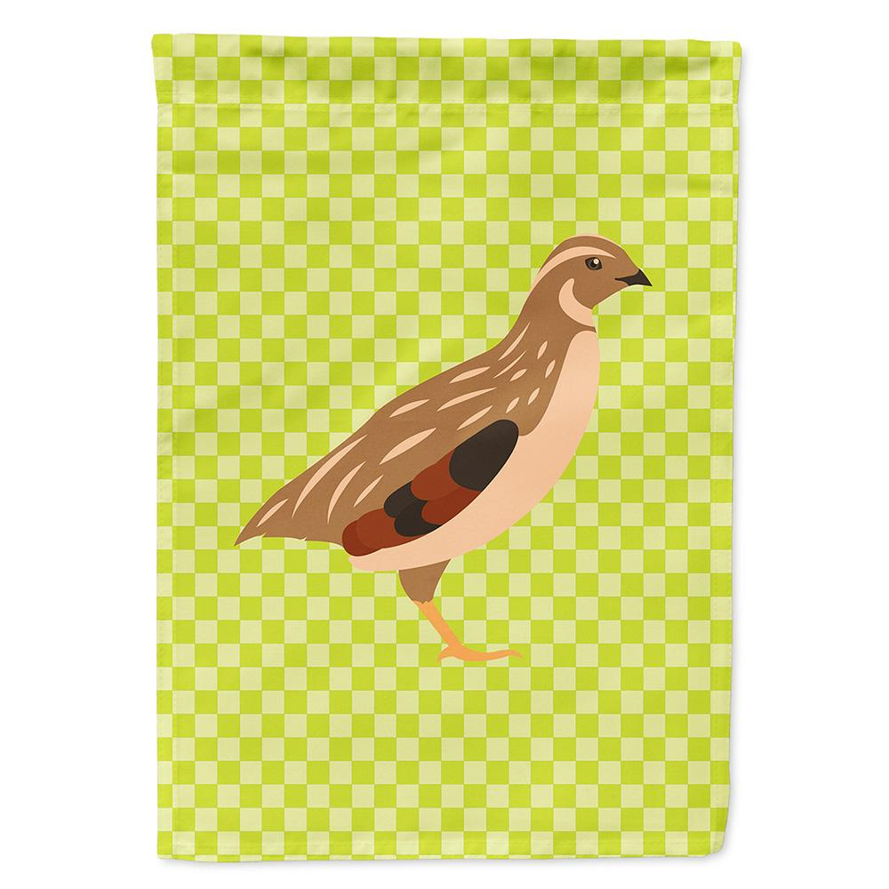 Buy this Golden Phoenix Quail Green Flag Garden Size