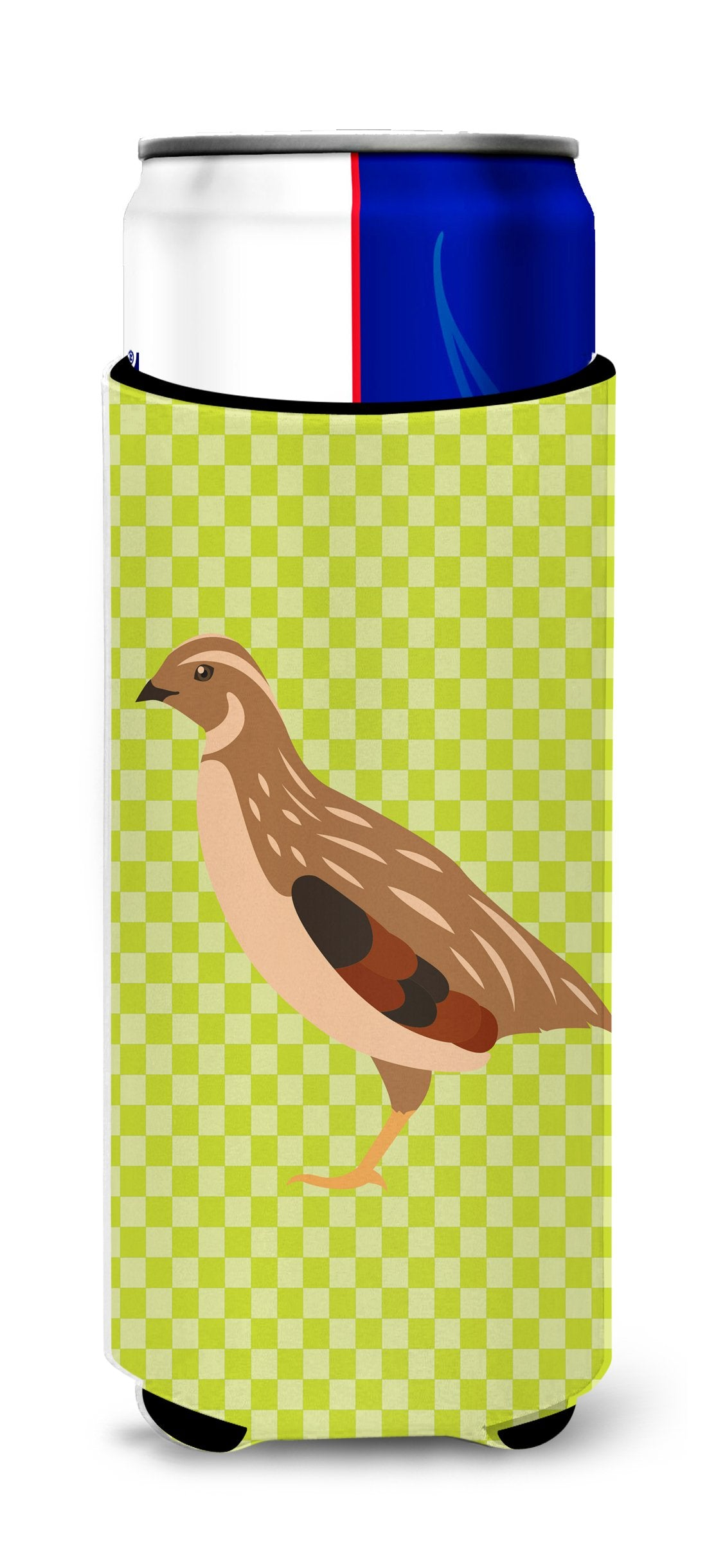 Buy this Golden Phoenix Quail Green Michelob Ultra Hugger for slim cans
