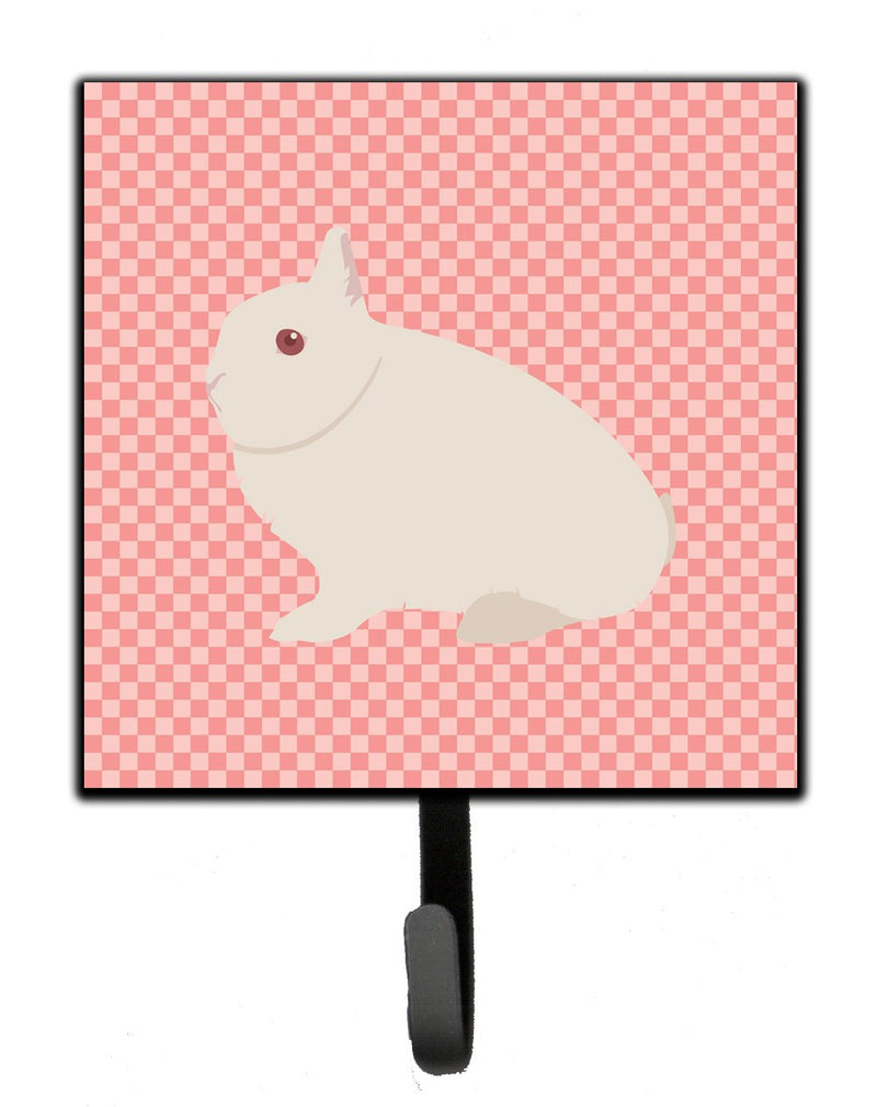 Buy this Hermelin Rabbit Pink Check Leash or Key Holder