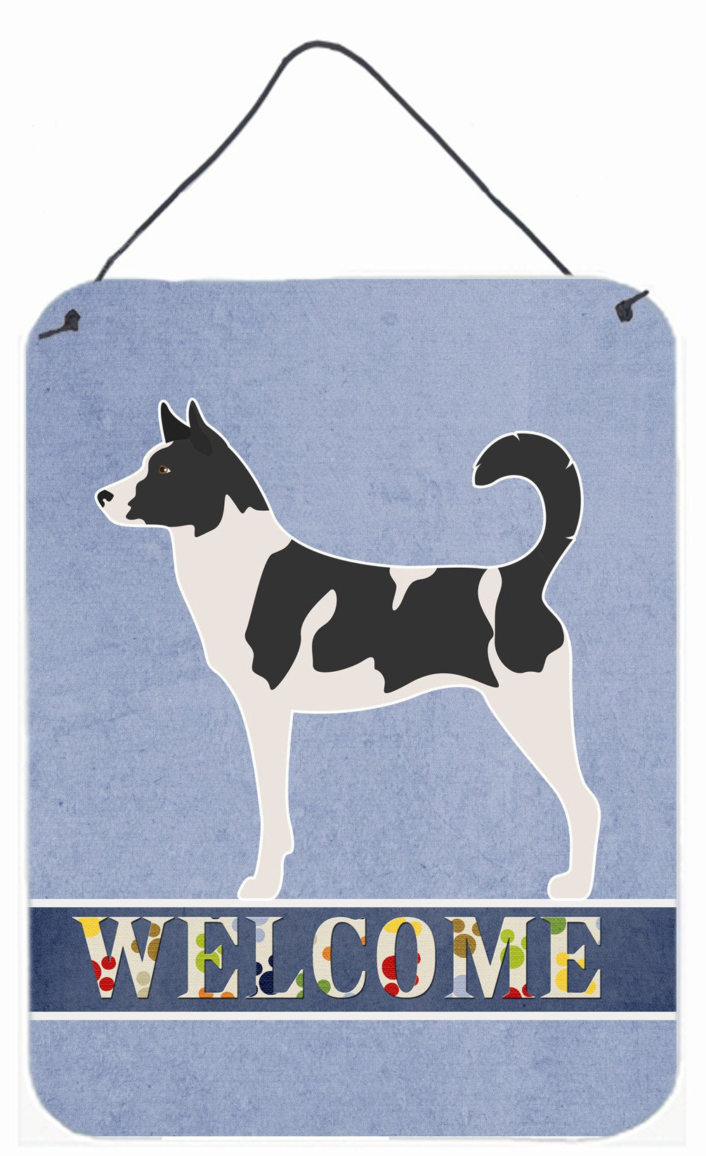 Buy this Canaan Dog Welcome Wall or Door Hanging Prints BB8329DS1216