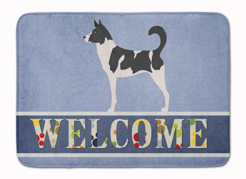 Buy this Canaan Dog Welcome Machine Washable Memory Foam Mat BB8329RUG
