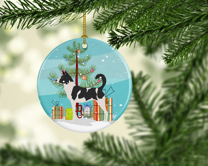 Buy this Canaan Dog Christmas Ceramic Ornament BB8491CO1