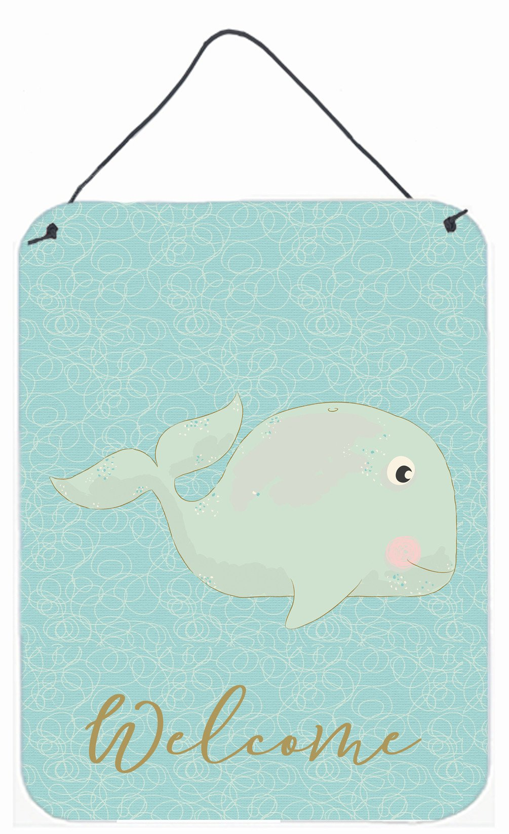 Buy this Whale Welcome Wall or Door Hanging Prints BB8586DS1216