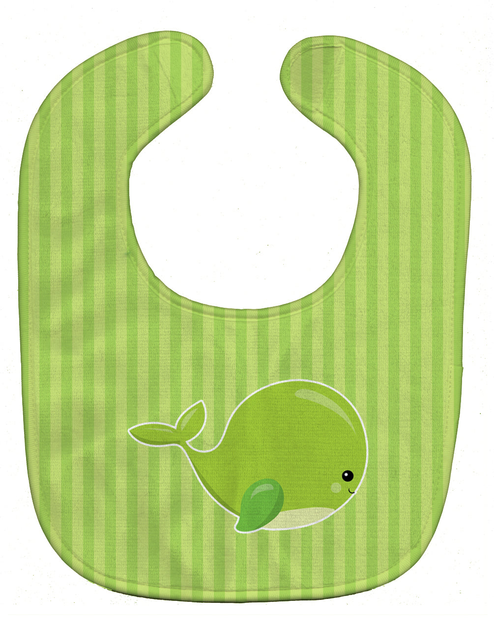 Buy this Nautical Whale Green Baby Bib BB8881BIB