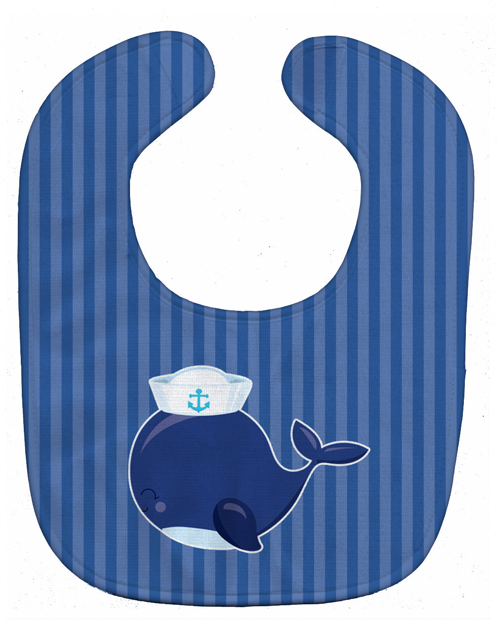 Buy this Nautical Whale Blue Baby Bib BB8884BIB