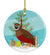 Buy this Chinese Painted or King Quail Christmas Ceramic Ornament BB9323CO1