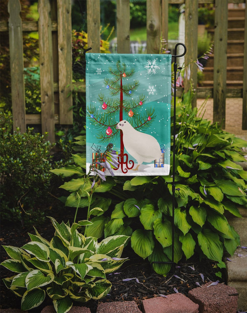 Buy this Texas Quail Christmas Flag Garden Size BB9324GF