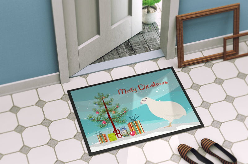 Buy this Texas Quail Christmas Indoor or Outdoor Mat 24x36 BB9324JMAT