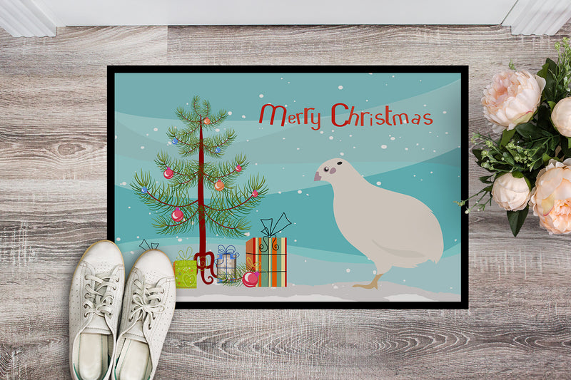 Buy this Texas Quail Christmas Indoor or Outdoor Mat 18x27 BB9324MAT