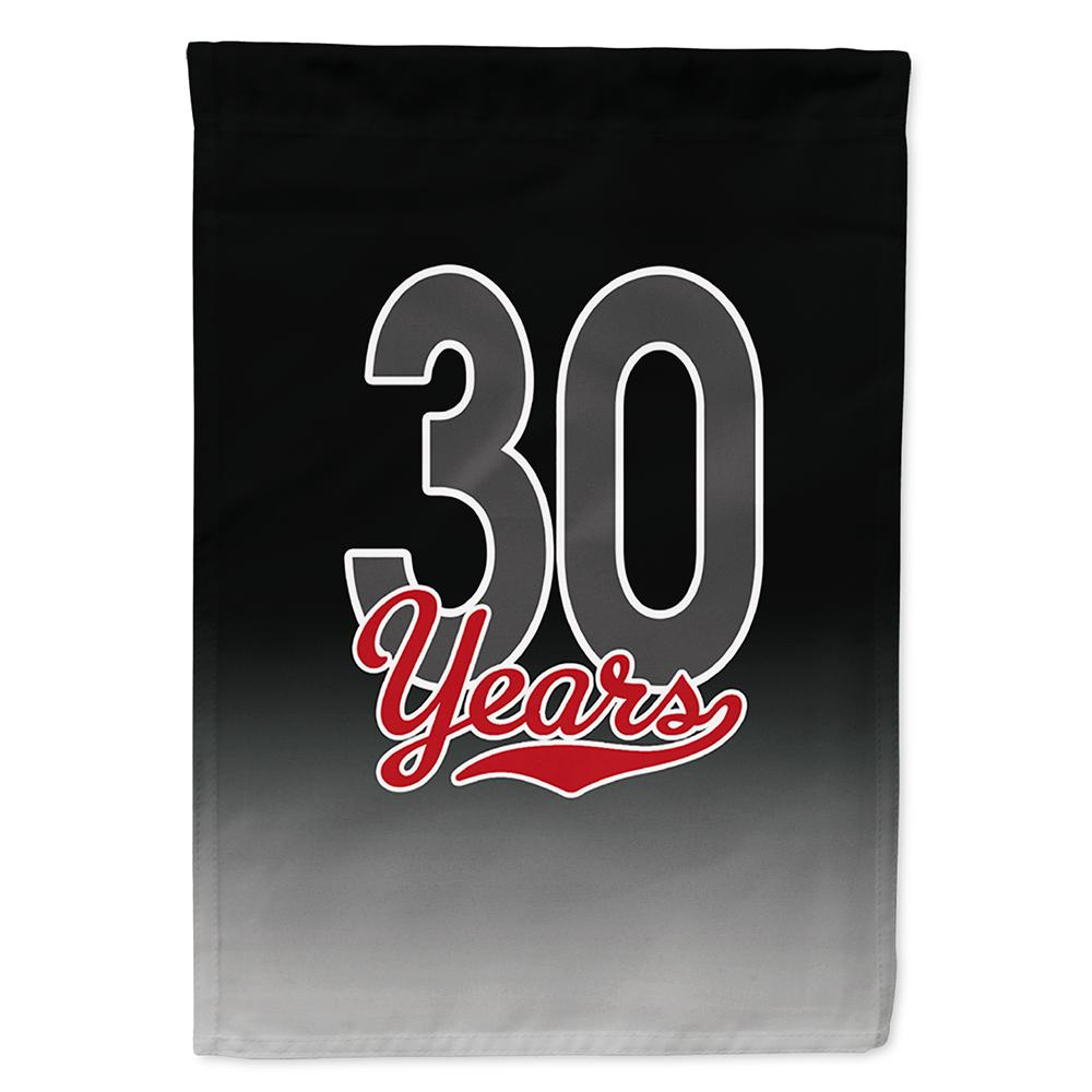 Buy this 30 Years Flag Garden Size