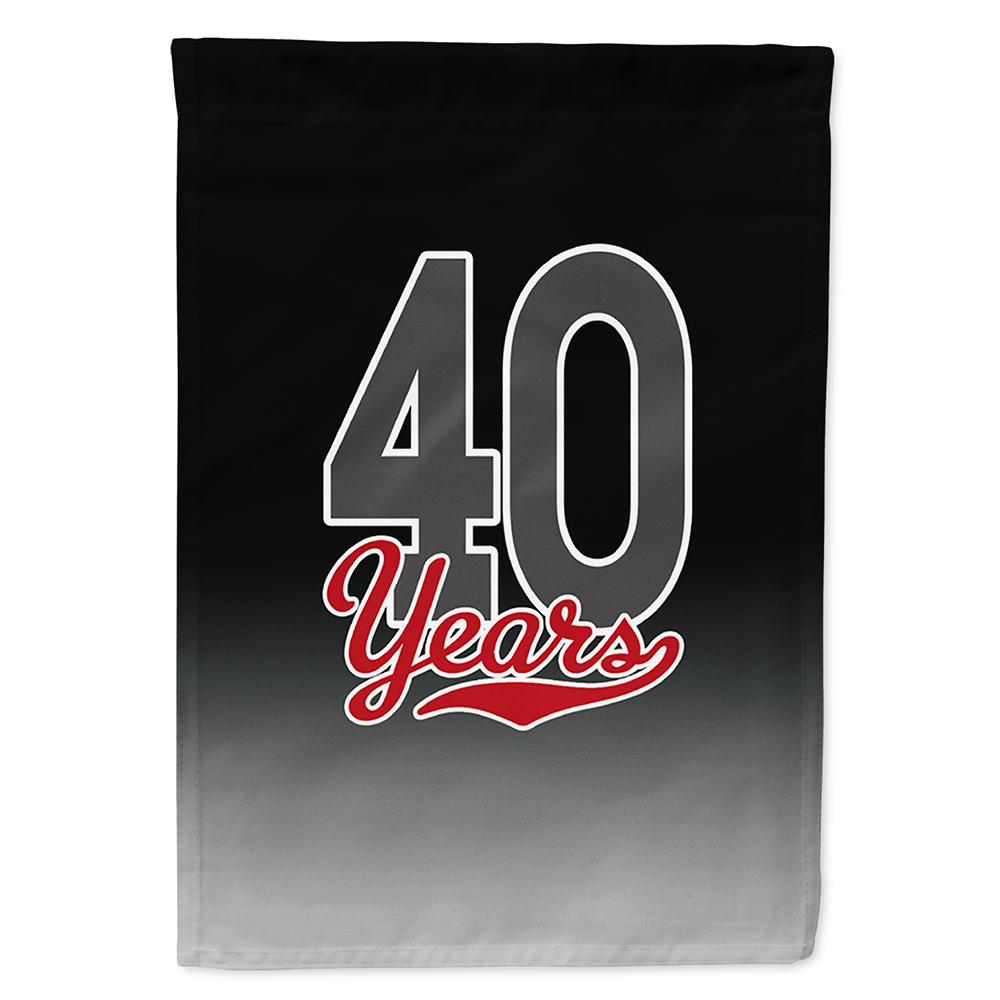 Buy this 40 Years Flag Garden Size