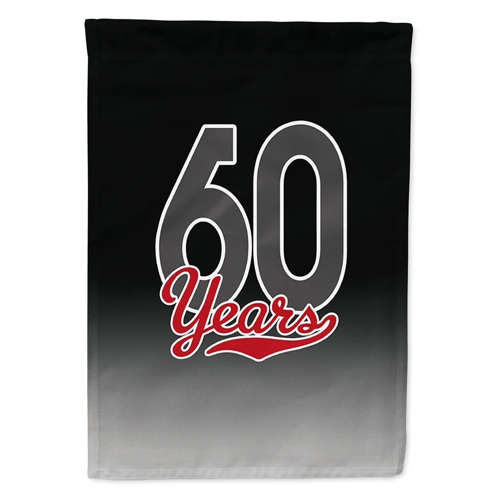 Buy this 60 Years Flag Garden Size