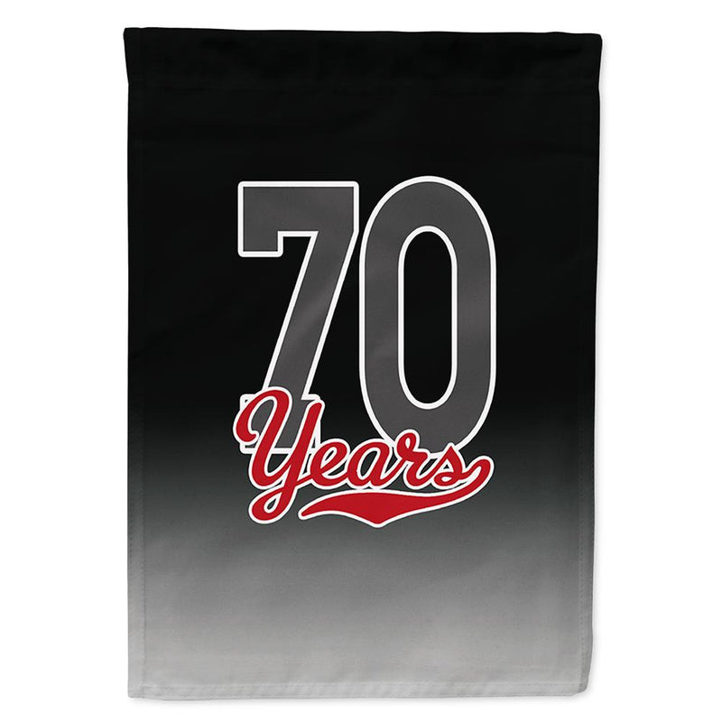 Buy this 70 Years Flag Garden Size