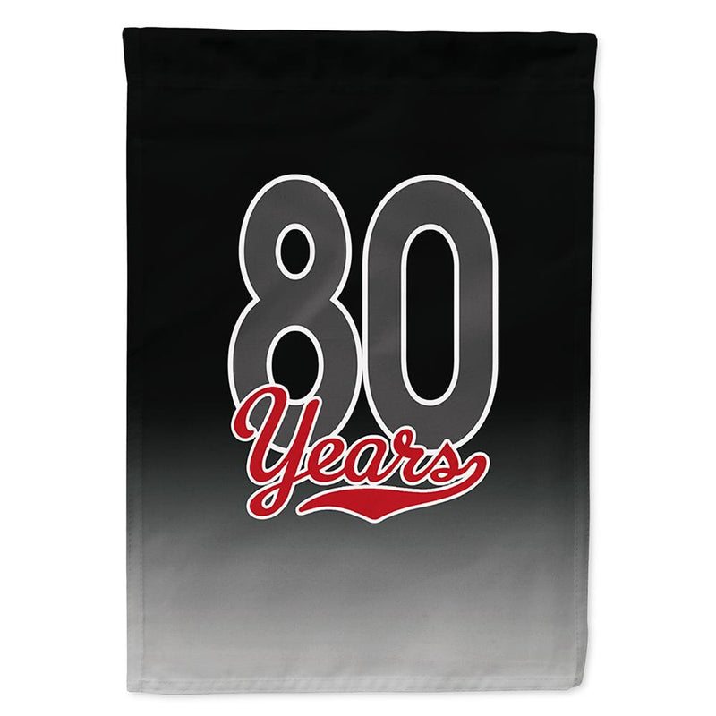 Buy this 80 Years Flag Garden Size