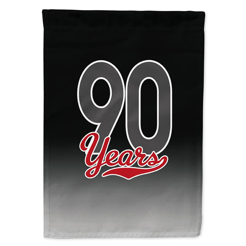 Buy this 90 Years Flag Garden Size