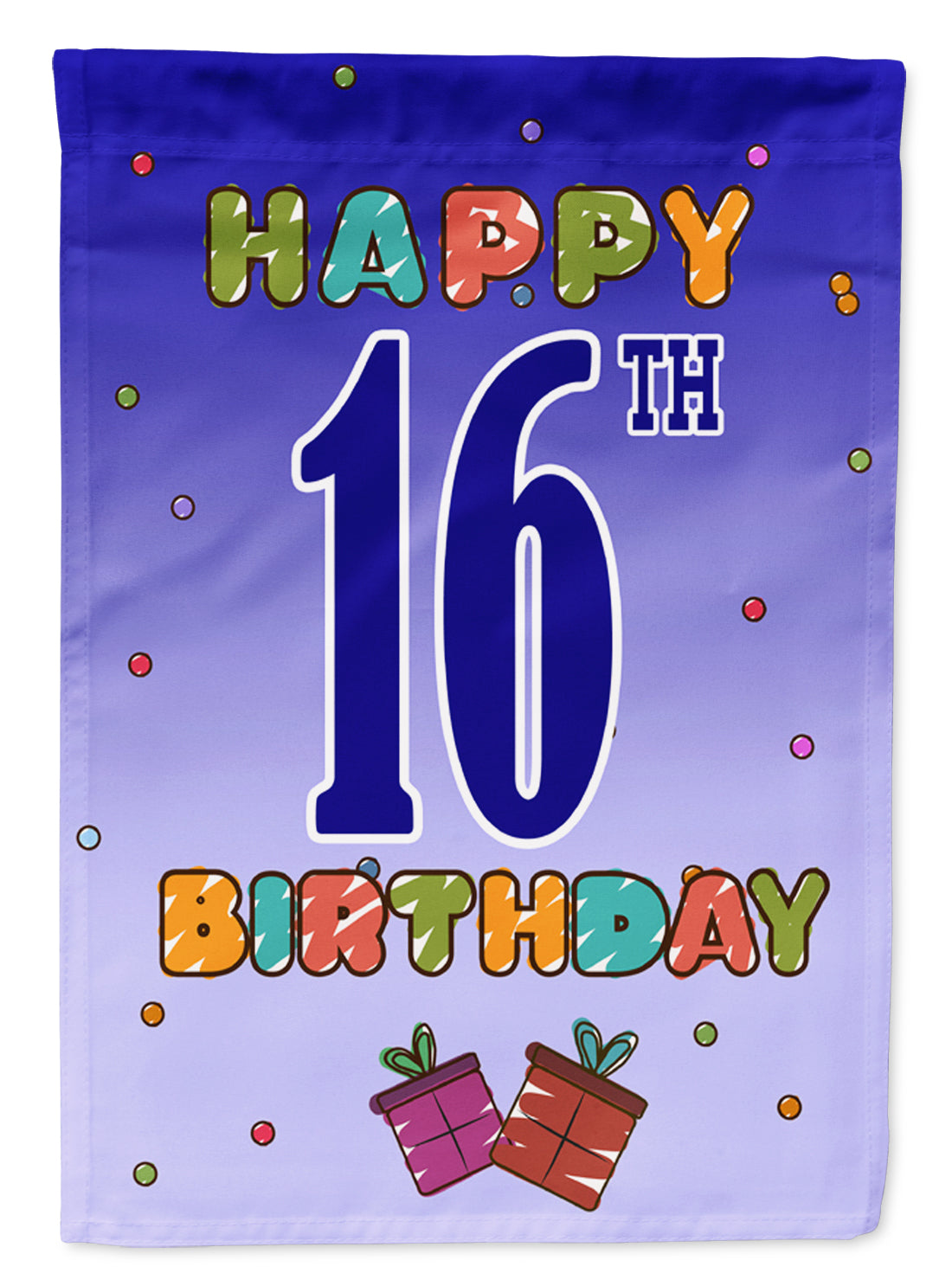 Buy this Happy 16th Birthday Flag Garden Size CJ1107GF