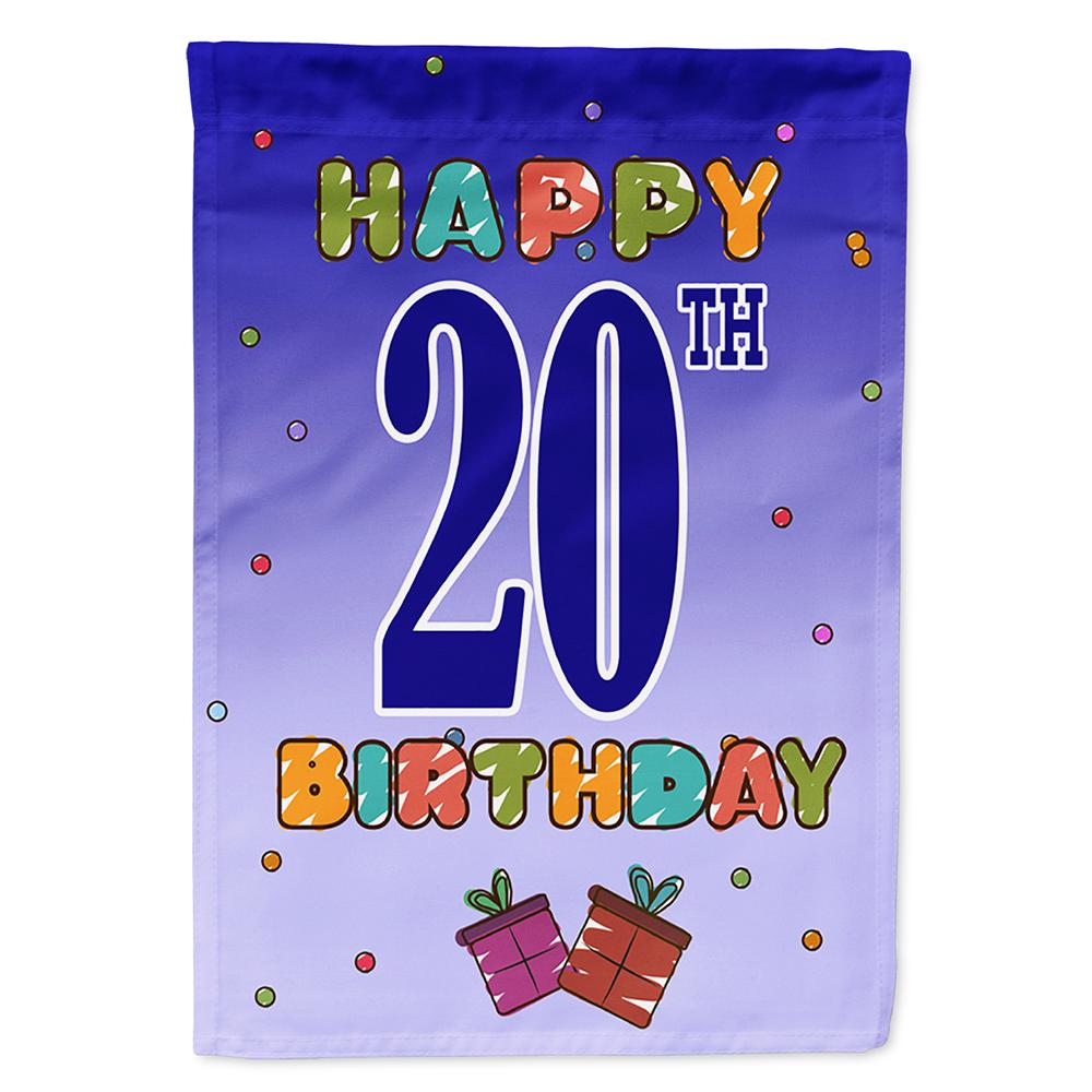 Buy this Happy 19th Birthday Flag Garden Size CJ1120GF