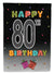 Buy this Happy 80th Birthday Flag Garden Size CJ1127GF
