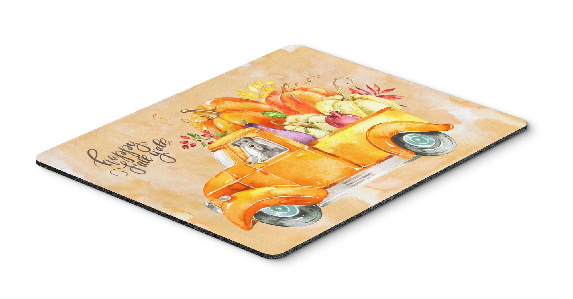 Buy this Fall Harvest Irish Wolfhound Mouse Pad, Hot Pad or Trivet CK2621MP