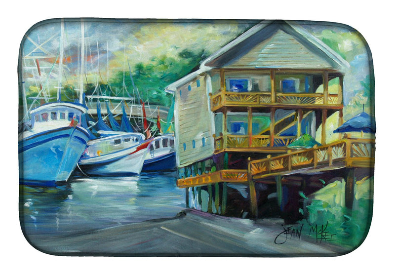 Buy this Ocean Springs Harbour Landing Dish Drying Mat JMK1069DDM
