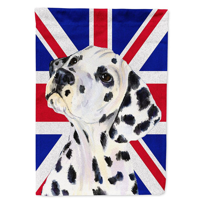 Buy this Dalmatian with English Union Jack British Flag Flag Garden Size