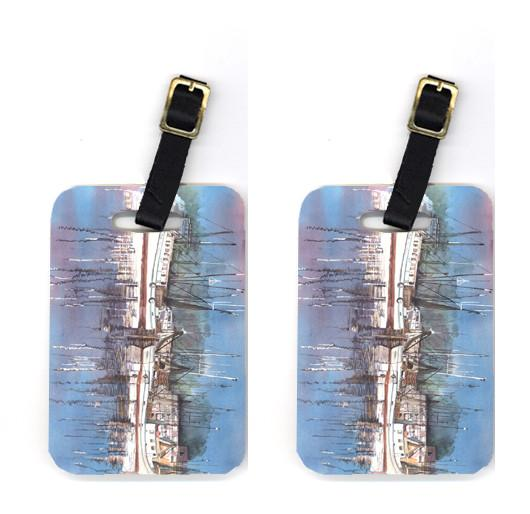 Buy this Pair of Harbour Luggage Tags