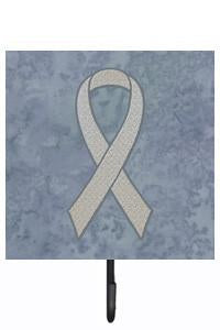 Buy this Clear Ribbon for Lung Cancer Awareness Leash or Key Holder AN1210SH4