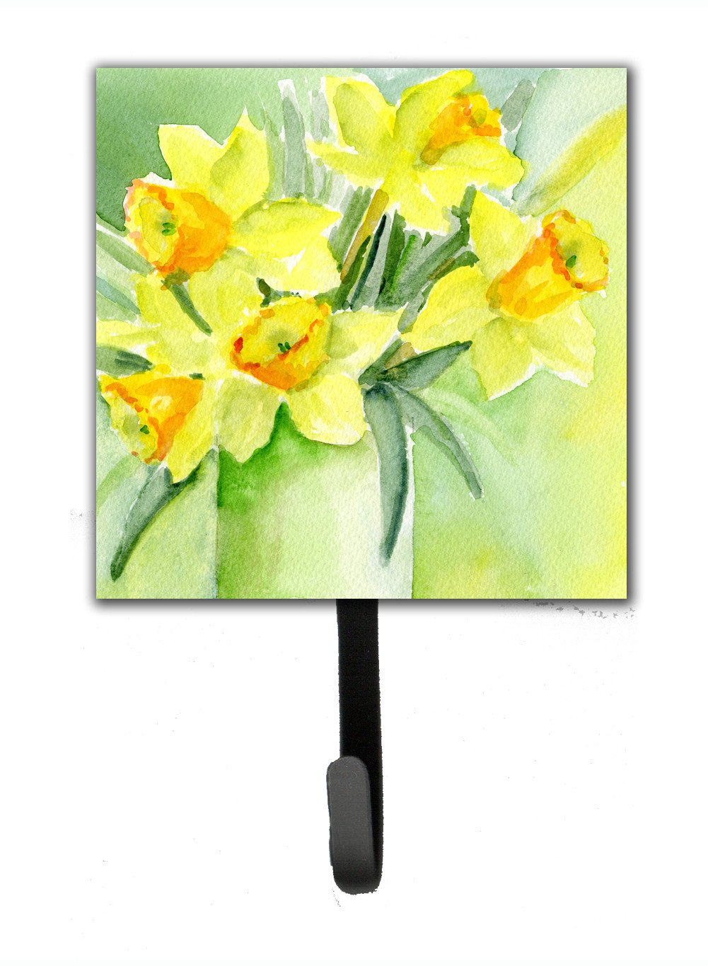 Buy this Daffodils by Maureen Bonfield Leash or Key Holder BMBO970ASH4
