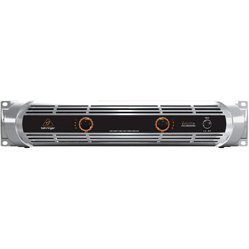 Industrie Music,Behringer iNUKE NU6000 6000W Power Amplifier