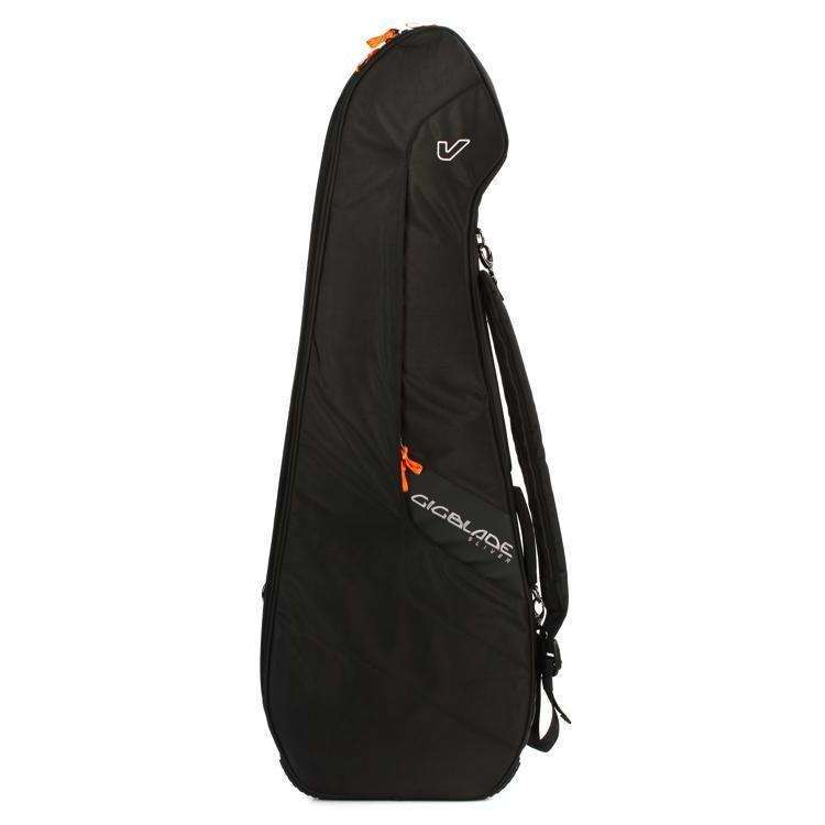 Industrie Music,Gruv Gear GigBlade Sliver Slimline Side-carry Electric Guitar Gig Bag Black