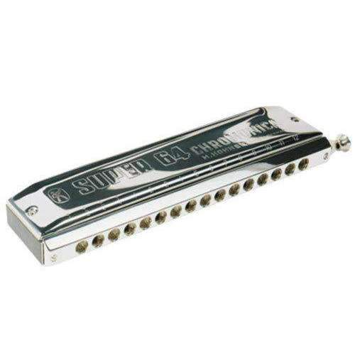 Industrie Music,Hohner Super 64 Professional Chromatic Harmonica in the Key of C