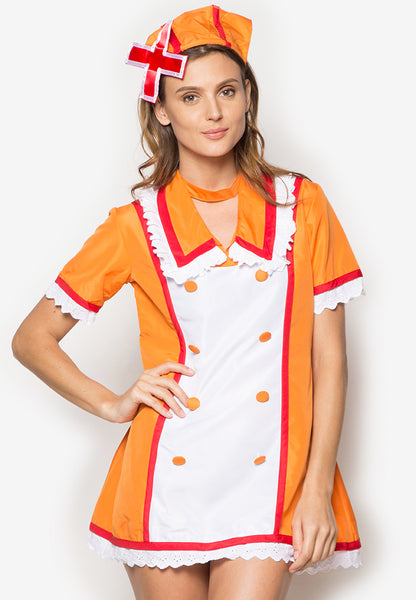#5007 Love Ward Vocaloid Rin Kagamine Nurse Cosplay Costume